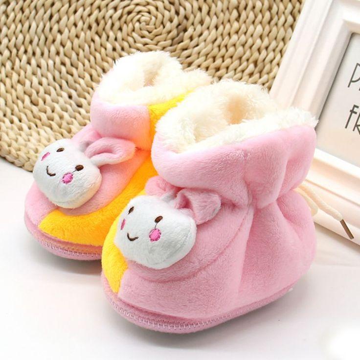Cute Pasgeboren Baby Kids Winter Schoenen Booties zachte Zolen Warm Houden Baby Peuter Meisjes Jongens Shoes