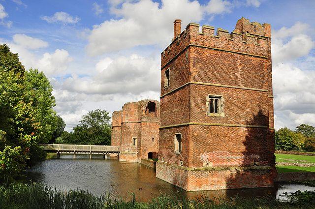 Kirby Muxloe Castle by Colin'sPic's, via Flickr