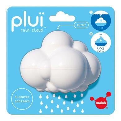<p>Deze prachtige witte regenwolk - <strong>Molok Pluï Cloud</strong> - is een geweldig kraamcadeau waar broertjes en zusjes ook veel aan hebben, ideaal speelgoed voor in bad en op vakantie in het zwembad. <br />Je vult de wolk met water en gebruik je vinger als sluitdop, zodra je je vinger weghaalt gaat het regenen. Dit is echt de enige regen waar wij van houden. <br />De wolk is 9.2 x 7.4 x 7cm het formaat van een appel.</p>