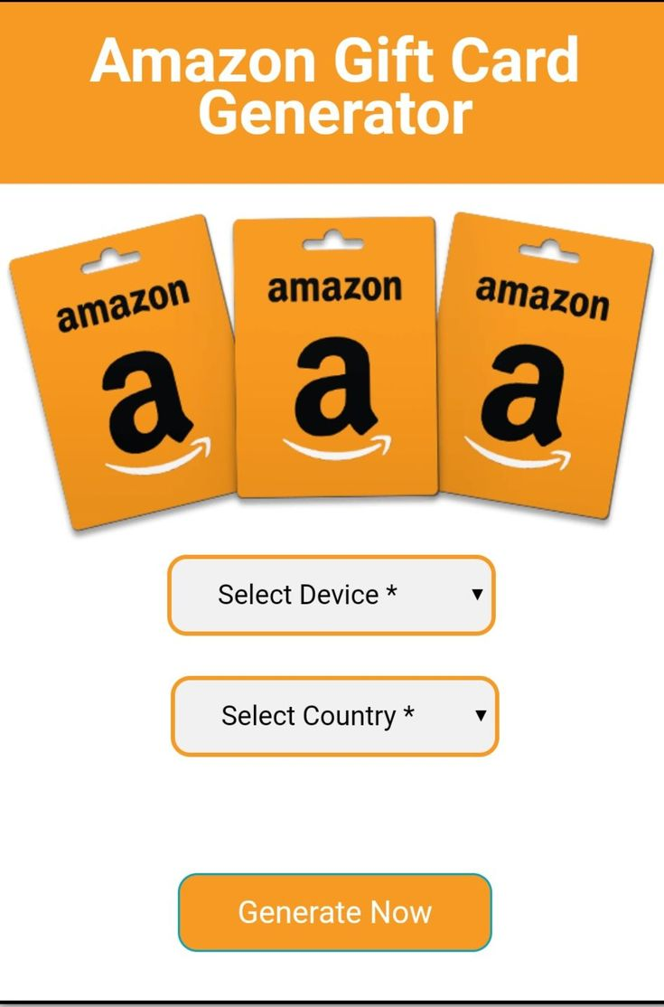 Free amazon gift card generator 2020 online 100 working