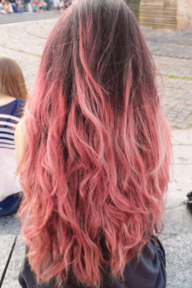Pink and brown hair | Hair | Pinterest | Brown hair, Brown ...