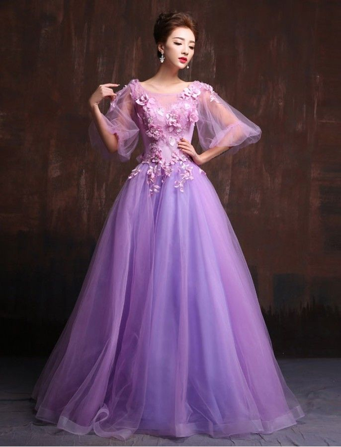 Retro Fl Formal Prom Dress Quience In 2018 Pinterest Dresses Gowns And