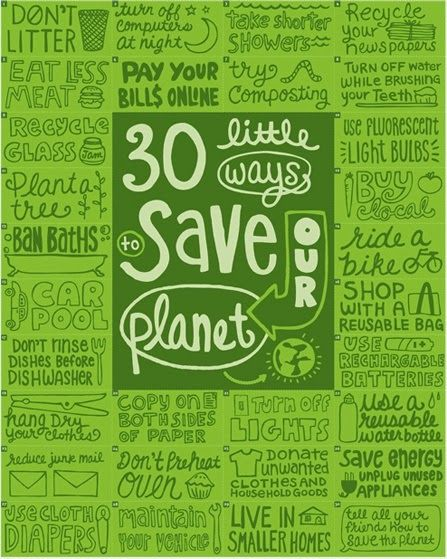 30 little ways to save our planet | Soul Flower Blog | SoulFlower