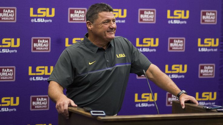 BATON ROUGE – In what may be one of the earliest starts to preseason football practice in school history, LSU reported to campus on Sunday as the Tigers are set to open its first training camp under head coach Ed Orgeron.