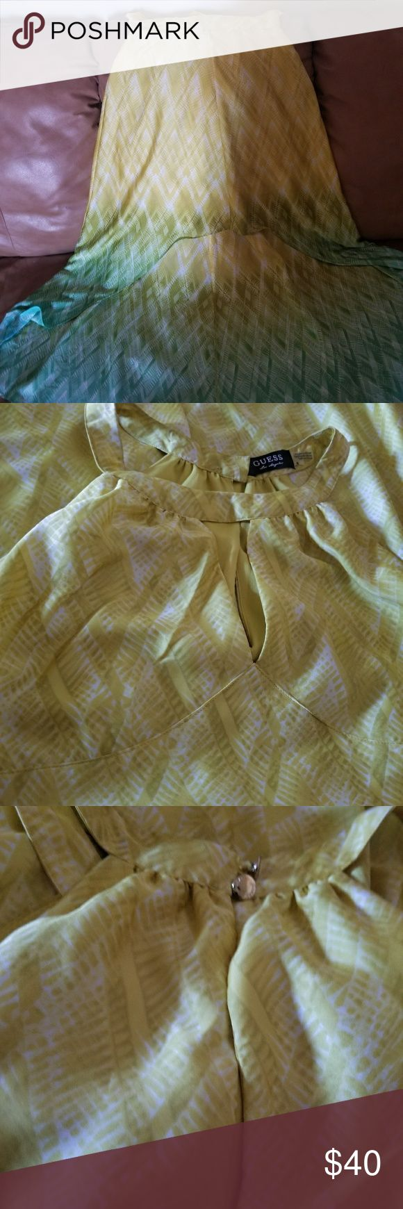 Guess dress High low guess dress worn once to a wedding. In EUC. Guess Dresses High Low