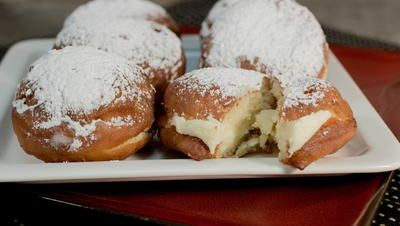 Dunkin Donuts Bavarian Cream Filled Donuts Copycat | They taste just like the originals!