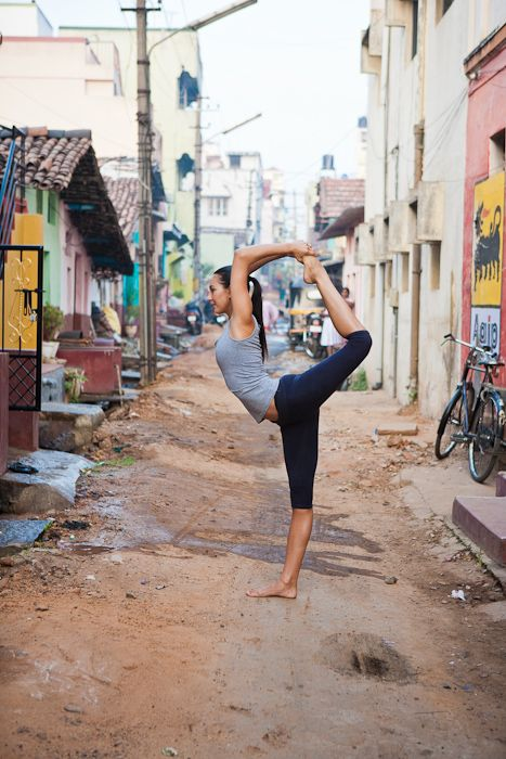 Natarajasana   King Dancers Pose #yoga