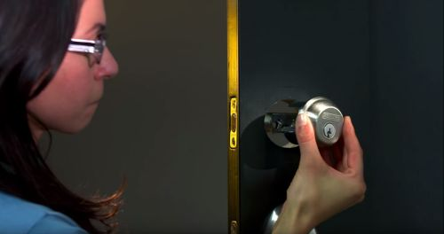 How to Install a Deadbolt Lock | Schlage