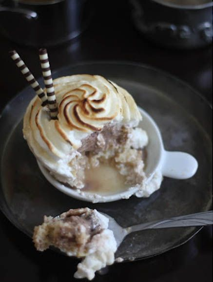 Flaming Baked Alaska Cupcakes2