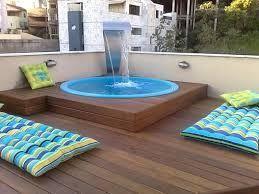 17 mejores ideas sobre piscinas para patios peque os en - Piscinas interiores pequenas ...