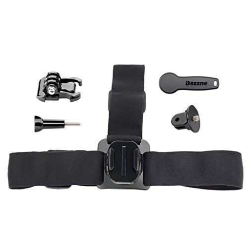 Introducing Dazzne head strap  Quick release buckle  14 inch screws accessories for Dazzne Gopro 2 3 3 4. Great product and follow us for more updates!