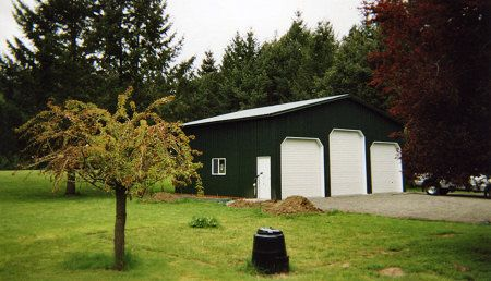 Pole barns rv garage pole buildings in oregon steve for Barn builders oregon