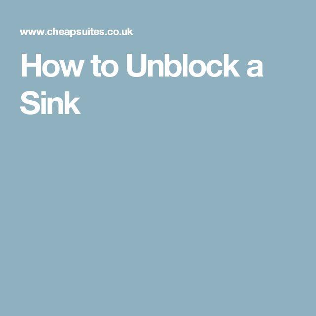 25+ einzigartige Diy drain unblocking Ideen auf Pinterest - stinkender abfluss k che