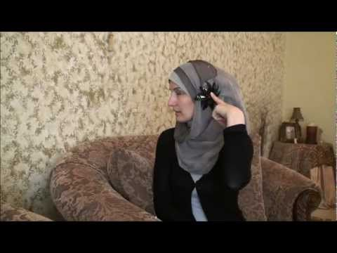 ▶ Hijab Tutorial # 21-(Classy style) - YouTube