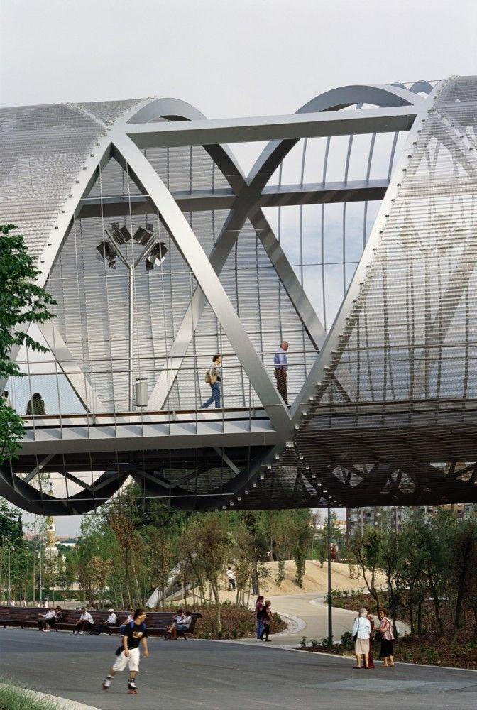 Arganzuela Footbridge / Dominique Perrault Architecture (37)