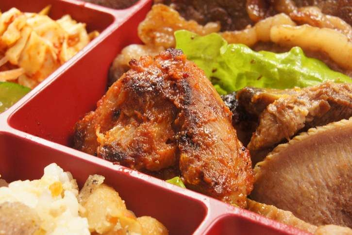 A4A5和牛ステーキ韓国御膳 - 会議やお祝いに高級韓国料理の仕出し弁当・宅配弁当の王建