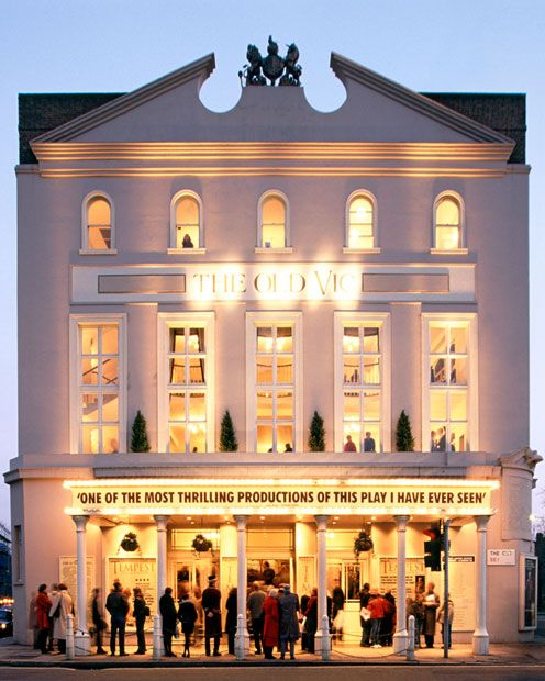 The Old Vic. London's oldest theatre. Opened in 1818