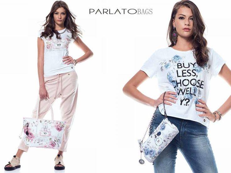 Y-not bags & t-shirt... Queste e tante altre le trovi su www.parlatobags.it