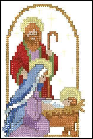 Resultado de imagem para navidad punto de cruz pinterest