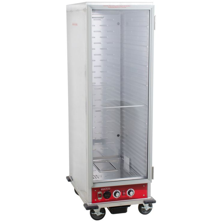 Designed to keep all your freshly cooked food items hot until they're ready to serve, this Avantco HPI-1836 full size insulated heated holding/proofing cabinet helps ensure your restaurant, diner, or bakery is always prepared for high volume meal periods. Boasting nine adjustable settings and a heat mode that can reach 180 degrees Fahrenheit, this cabinet is perfect for storing a wide variety of ready-to-serve dishes. Or, operators can use the unit's integrated proofing mode for ...