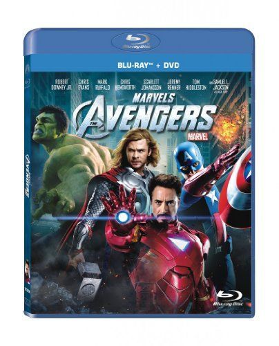 Marvel's The Avengers (Two-Disc Blu-ray/DVD Combo in Blu-ray Packaging) Disney X