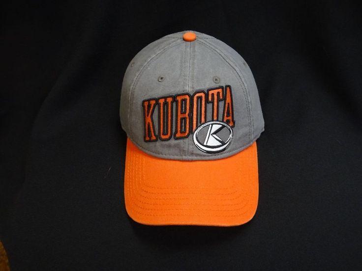 NWT KUBOTA FARM TRACTOR EQUIPMENT CORN FARMING  STYLE HAT CAP
