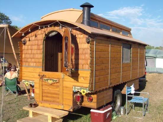 368 Best Gypsy Vardos Homemade Campers Images On Pinterest