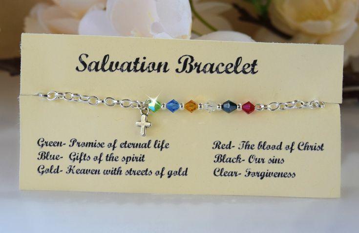 Salvezza Bracciale/oro/argento/spirituale/Christian di HeartofGems