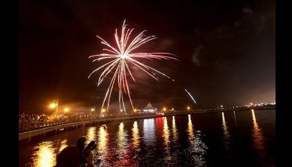 Malam Tahun Baru di Jakarta, Cuaca Cukup Cerah dan Berawan