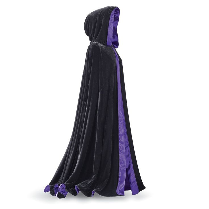 Laurie Cabot™ Reversible Purple Cape - Women's Romantic & Fantasy Inspired Fashions