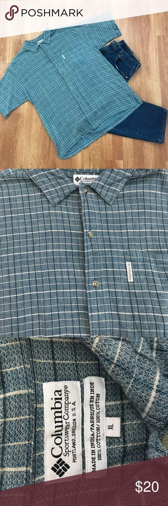 Columbia Mens Button Down Shirt Men's Columbia sportswear company button down shirt. 100% cotton. Excellent condition. Columbia Shirts Casual Button Down Shirts