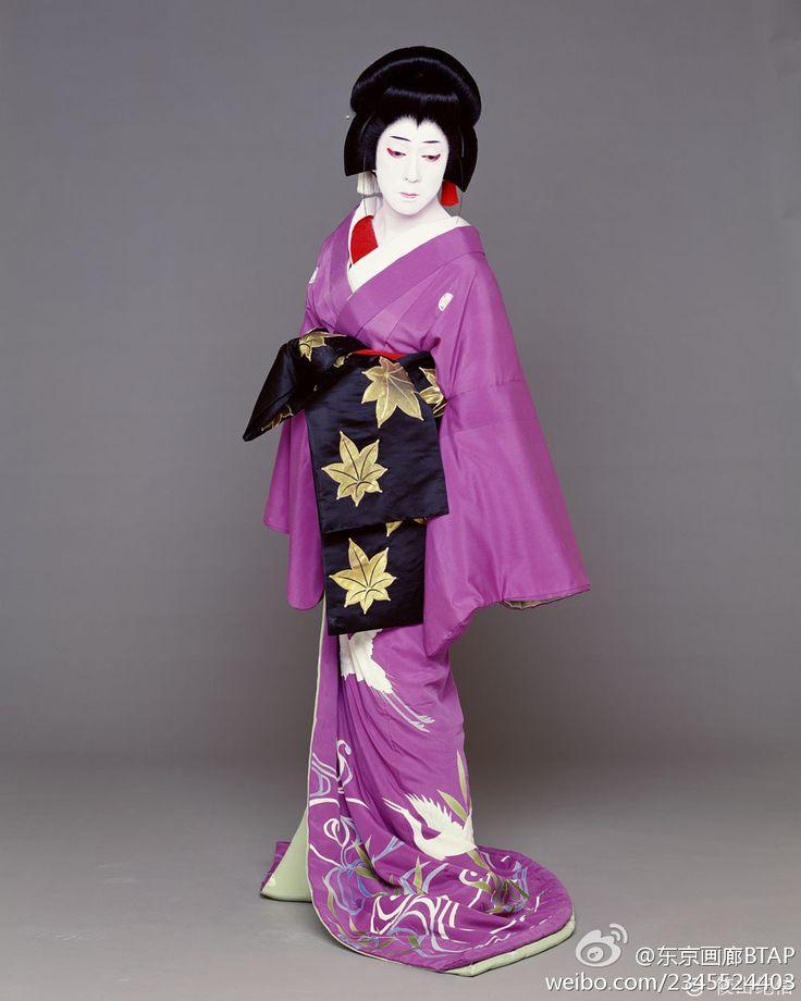心中天網島より小春。坂東玉三郎 Kabuki actor Tamasaburo Bando