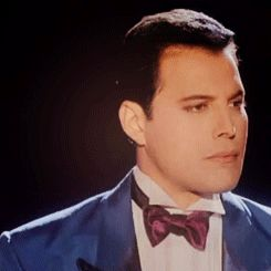 ♥Freddie♥ This captures how proud he was to fulfill his dream of taking the opera stage. I'm so happy he got to do that!