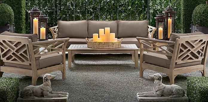 Kingston restoration hardware indoor patio furniture pinterest - Restoration hardware patio ...