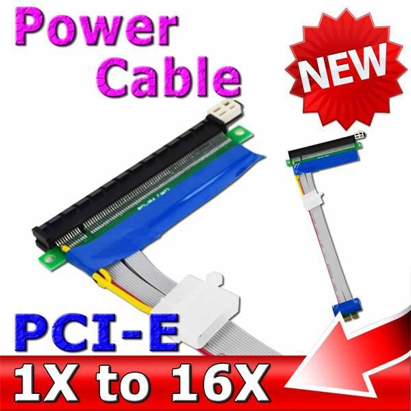 # Buy Cheap 10pcs/lot with Molex Power PCI Express 1X to 16X Adapter PCI-E Extender Converter Riser Card Flexible Extension Ribbon Cable [NhLxjQaM] Black Friday 10pcs/lot with Molex Power PCI Express 1X to 16X Adapter PCI-E Extender Converter Riser Card Flexible Extension Ribbon Cable [jTiV19w] Cyber Monday [BW89fR]
