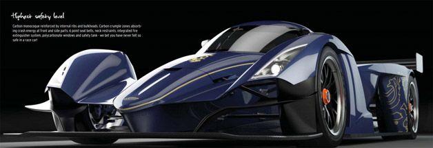 【ビデオ】重量わずか572kg! 超軽量レースカー、Praga「R1」 - Autoblog 日本版