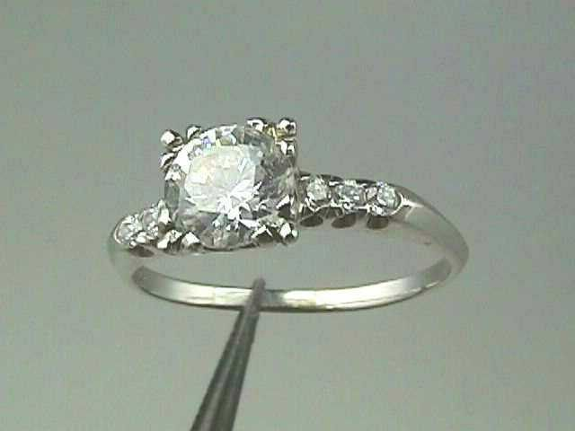 Art Deco Engagement Ring Mounting...for 1 Carats 6.5 mm ...
