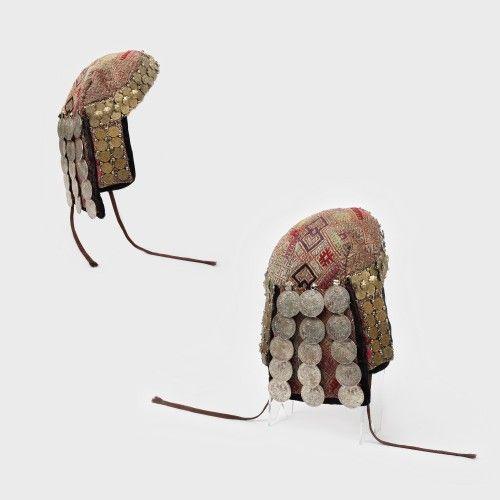 Bonetă sau conci cu bani, podoabă femeiască rară de nuntă, ultimul pătrar al sec. al XIX-lea