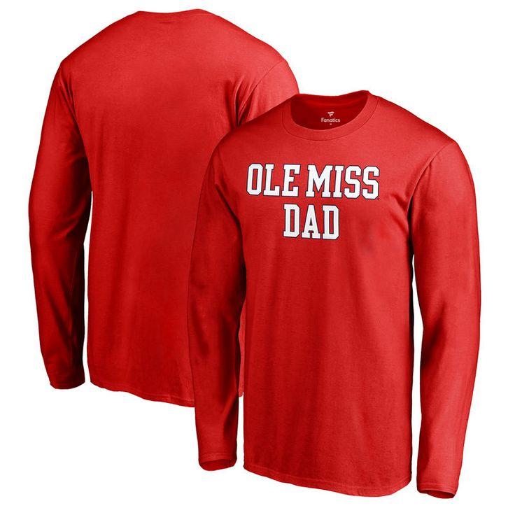 Ole Miss Rebels Fanatics Branded Big & Tall Team Dad Long