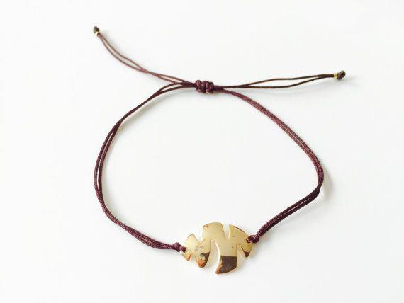 Wristband for her, Friendship #Bracelet, Fish charm bracelet, Minimalistic…