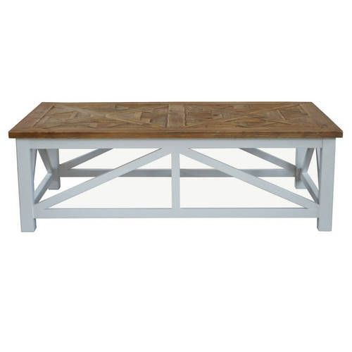 Buy online the stylish Portside Parquet Coffee Table with Australia-wide Shipping from Maison Living.