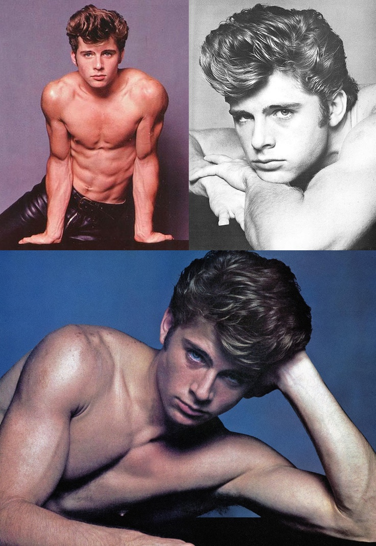 Maxwell Caulfield spent much of the 1980s shirtless.