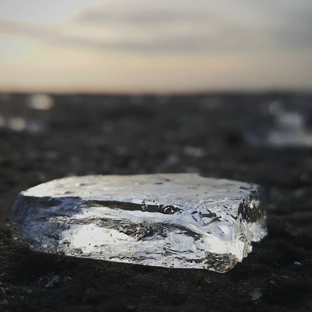 Now some may say it's funny to post a picture of ice on Valentines but rest assured it's not a metaphor. It's unusual to see ice on the beach here so I had to try and share it with all of you.   Nature's beauty is a wonderful thing.  Morning Insta Friends!! #gloomandglow