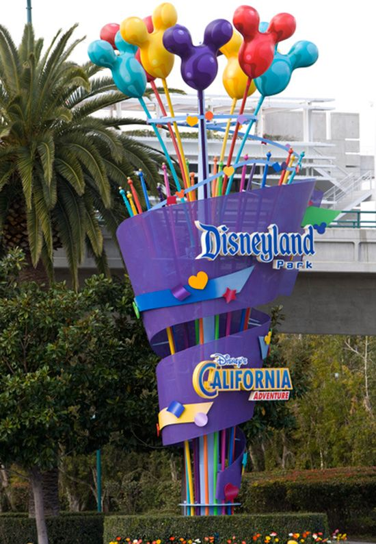 Remember the happiest place on earth is located in beautiful Southern California.  Disneyland and California Adventure.