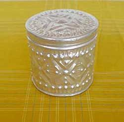 Aluminum Handicrafts - Mini round box