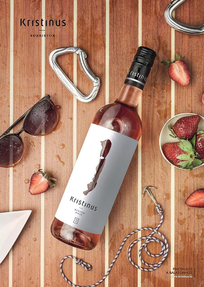 Birtok Rosé 2015 -  Always the best our 55 hectares can offer for a refreshing rosé. Every drop contains: sunshine, Lake Balaton, friends, fruit and bubbles. Who said the evening can't start at 2pm?