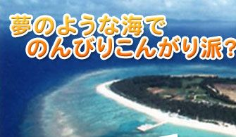 沖縄のビーチで海水浴やマリンスポーツするなら水納島