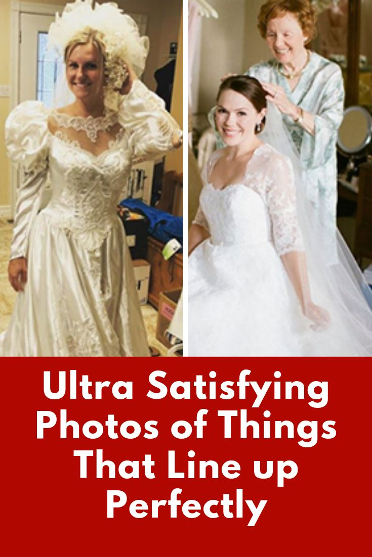 Stunning Brides Who Altered and Wore Their Moms' Wedding Dresses