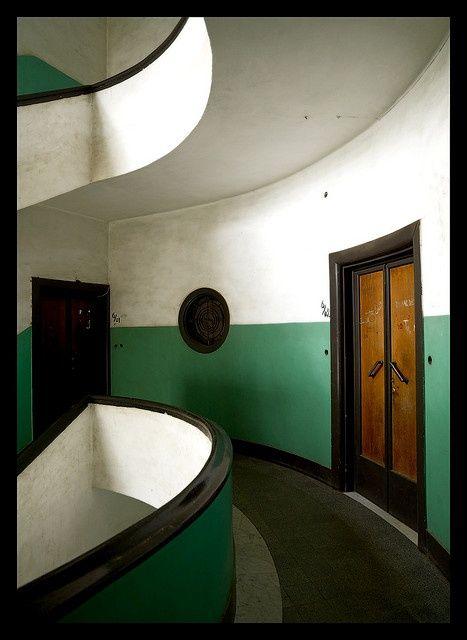 Art Deco building, Asmara, Eritrea by Eric Lafforgue