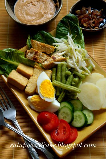 Piece of Cake: Gado Gado (Indonesian Salad)